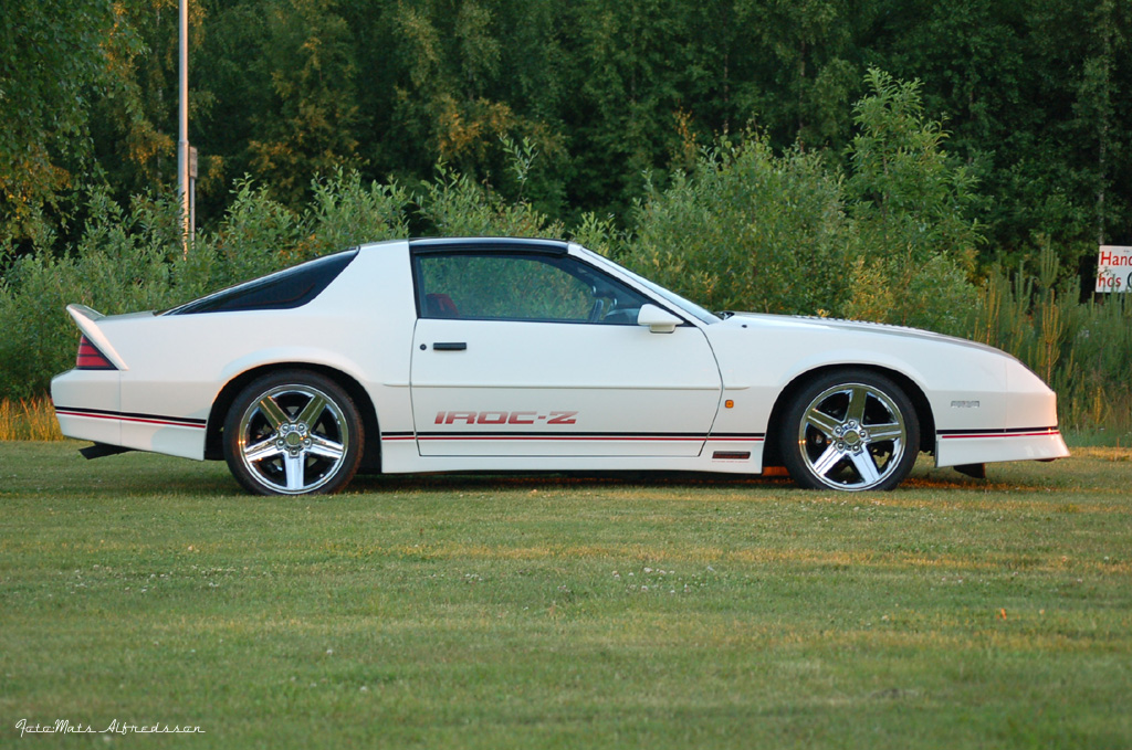 The Iroc Cleaned Up Fore Tomorows Show Third Generation